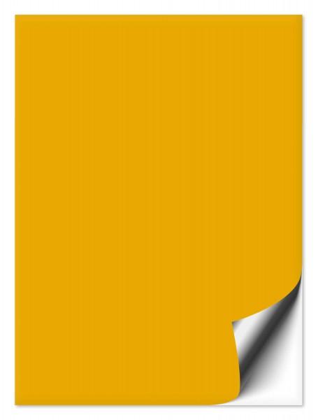 Fliesenaufkleber 20x30 cm signalgelb