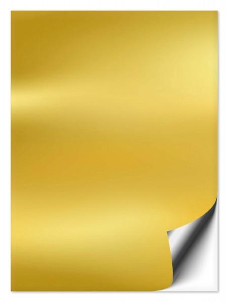 Fliesenaufkleber 20x25 cm gold