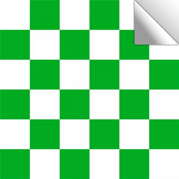 Fliesenaufkleber grün/weiß
