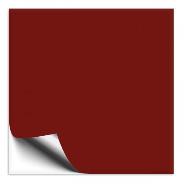 Fliesenaufkleber 18x18 cm burgundy