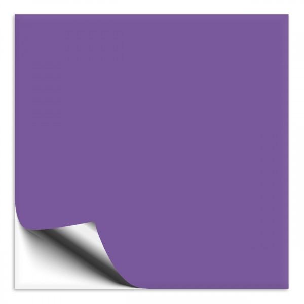 Fliesenaufkleber 15x15 cm lavendel