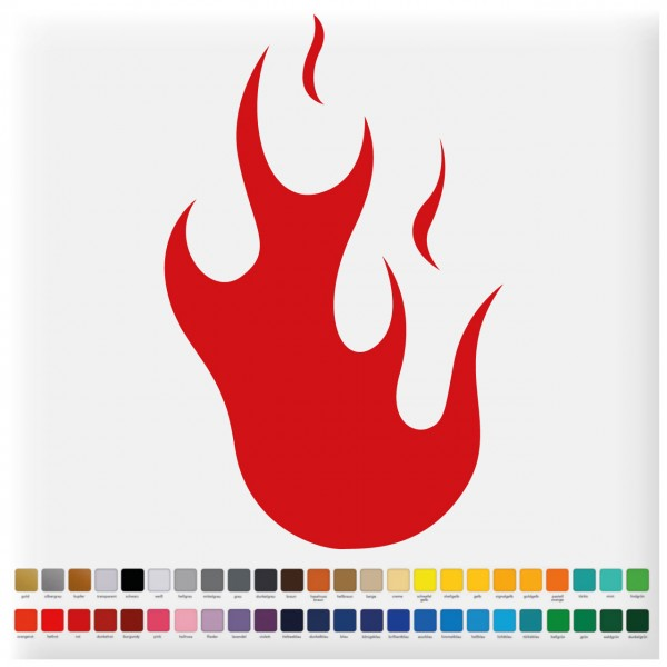 Fliesenaufkleber Feuer