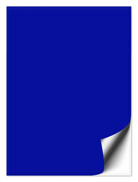Fliesenaufkleber 20x25 cm brilliantblau
