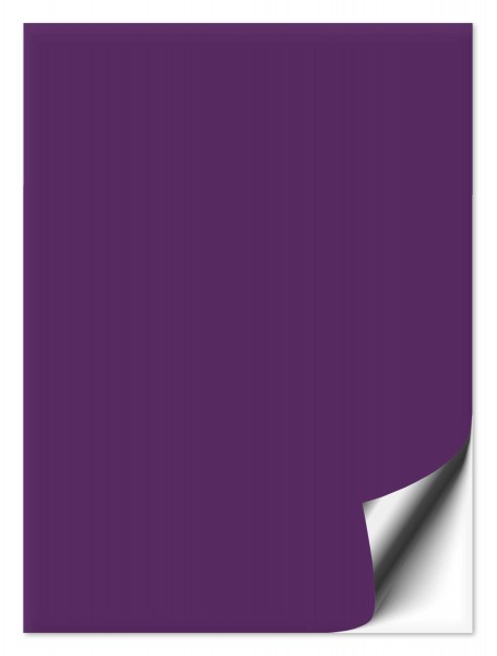Fliesenaufkleber 15x20 cm violett