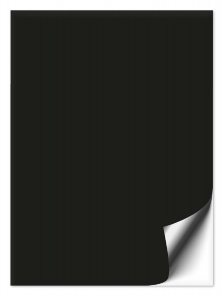 Fliesenaufkleber 15x20 cm schwarz